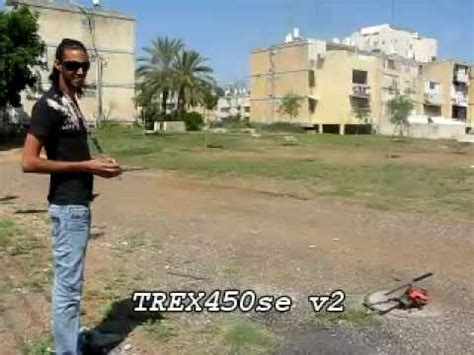 trex 450 se v2 moto scorpion hk2221 8 13t orenoved youtube