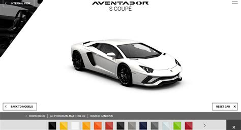 Lamborghini Aventador Build And Price How Would You Spec Your Lamborghini Aventador S