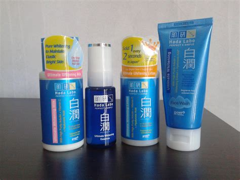 Krim Pemutih Hada Labo review hada labo shirojyun ultimate whitening