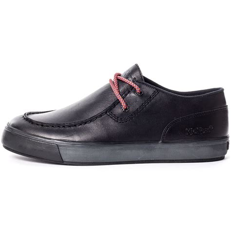 Kickers Casual 3 kickers tovni trap mens casual shoes in black