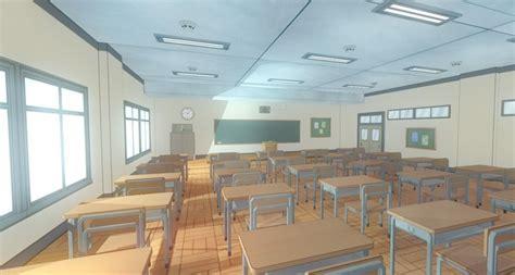 House Exterior Design Software Online 3d model anime classroom game props vr ar low poly