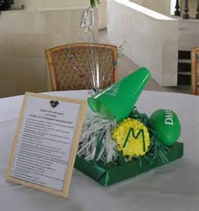Table decorations compliments of susie tillman thomas
