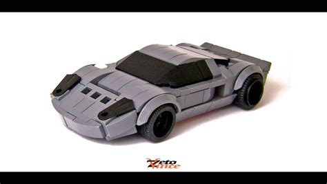lego vehicle tutorial lego 174 ford gt youtube