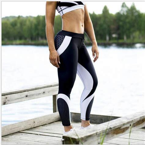 pattern mesh leggings mesh pattern print fitness leggings