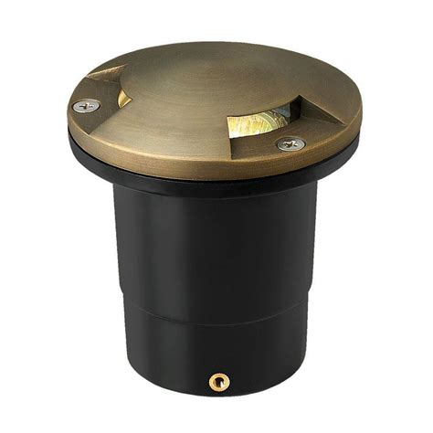 low voltage well lights hinkley lighting low voltage 50 watt bronze die cast