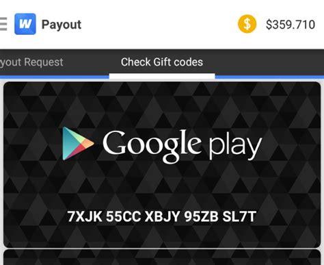 Valid Google Play Gift Card Codes - google play gift card codes valid
