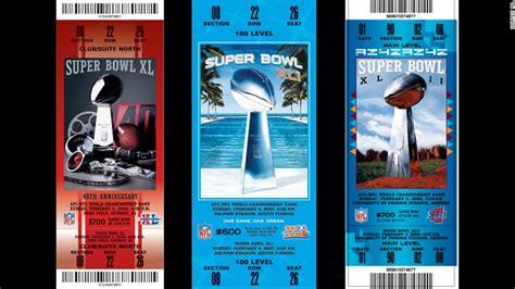 superbowl tickets super bowl ticket designs cnn com