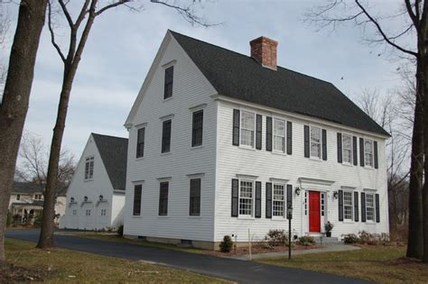 classic colonial homes cch residential settlement traditional exterior