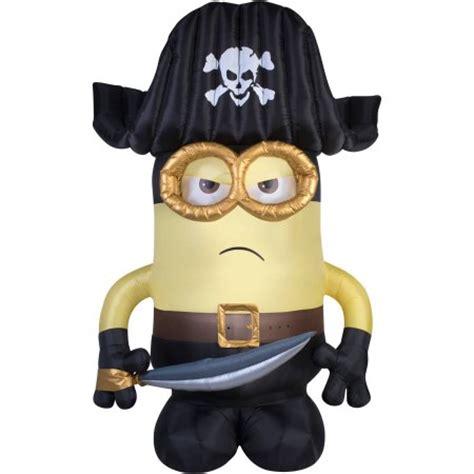 Minions Bajak Laut Pirate Original Merchandise gemmy airblown 9 x 6 eye pirate matie