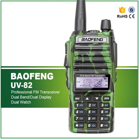 Radio Ht Handy Talkie Baofeng Uv5r Dual Band Uhf Vhf Camouflage radio walkie handy talky ht baofeng pofung dual band uhf