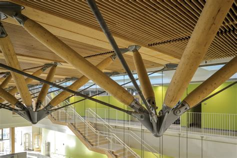 design solutions journal of the architectural woodwork institute umass amherst design building zipper trusses architect