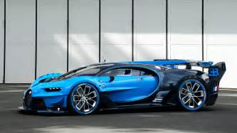 Bugatti Vehron Bugatti S Gran Turismo Concept Car Hints At Beyond