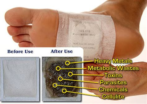 How To Self Detox From At Home by How To Make Detox Foot Pads To Remove Toxins From