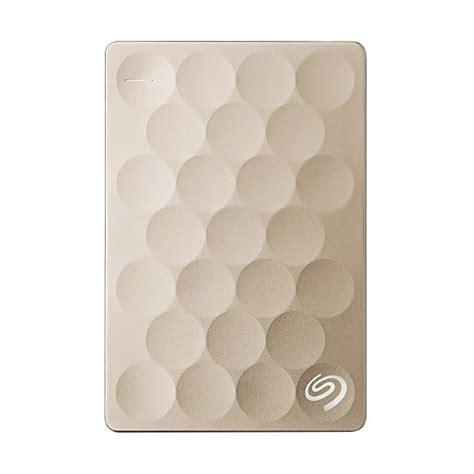Seagate Backup Plus Slim 2tb Gold Harddisk Eksternal Free Pouch U281 jual presale seagate backup plus ultra slim disk