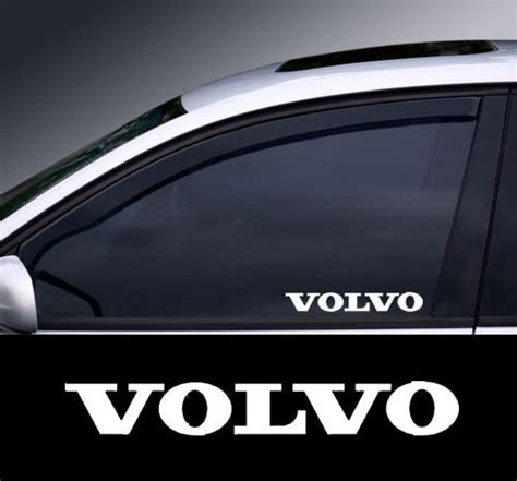 volvo window decal sticker graphic colour choice ebay
