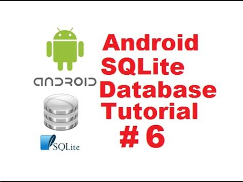 android sqlite tutorial android sqlite database tutorial 6 delete values in sqlite database table using android