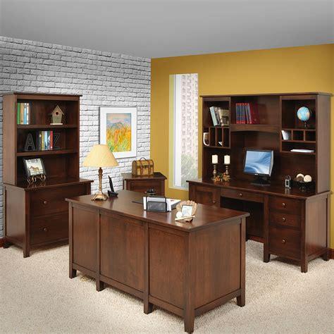 office furniture manhattan manhattan amish office furniture set amish desks