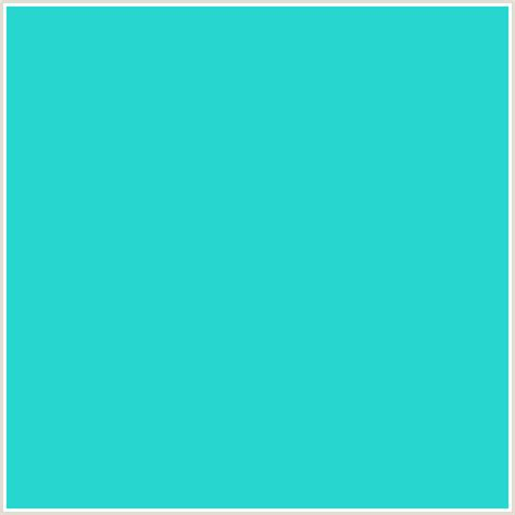 the color aqua 26d6cf hex color rgb 38 214 207 aqua light blue
