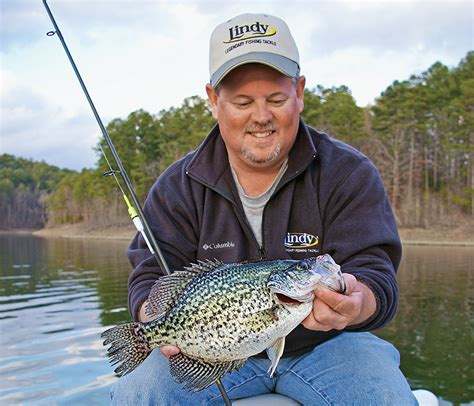 spring crappies follow  water temperature guidelines