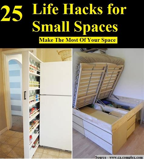 hacks for home 25 life hacks for small spaces home and life tips