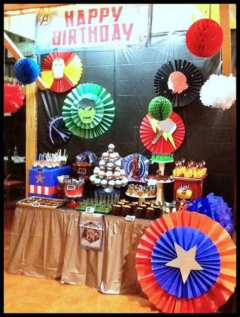 capitan america decoracion ambientacion cotilln fiestas las 25 mejores ideas sobre fiesta de capit 225 n am 233 rica en