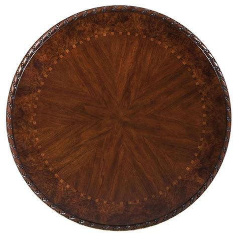 wood round pub table buy antoinette wood top round pub table by steve silver