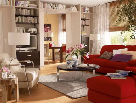 how to decorate with a red couch the interior studio apartments home interior design