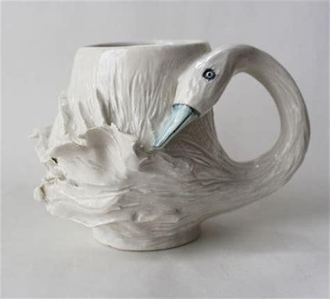 animal shaped mugs hand crafted animal shaped mugs by sara e lynch