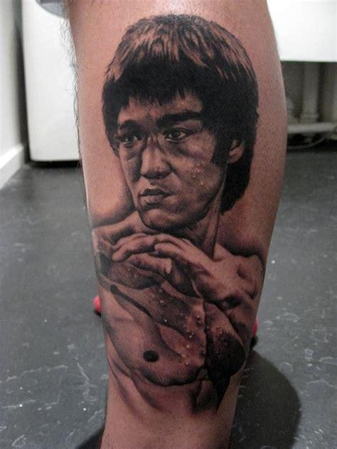 bruce lee tattoos by bob tyrrell tattoos