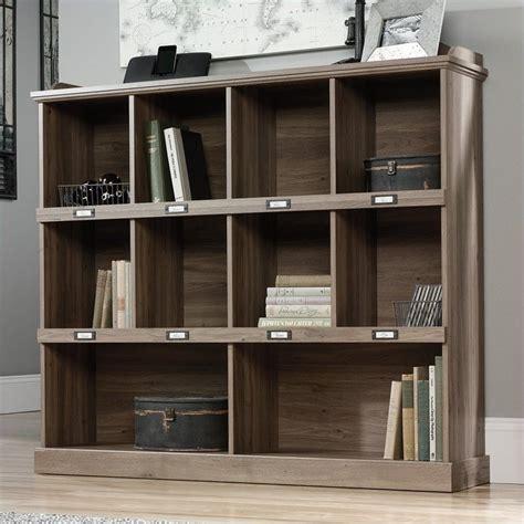 Bookcase In Salt Oak 414726 Sauder Barrister Bookcase