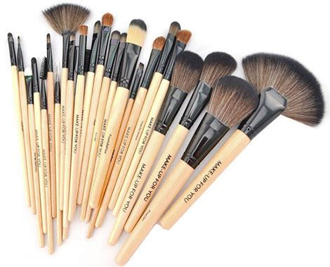 Brush Kit 12 In 1 Kualitas Premium Make Up Proffesional Salon jual brush set makeup for you make up for you bamboo 24pcs for professional need high