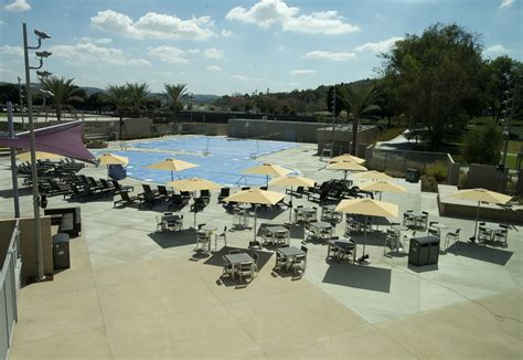 cal poly pomona table after two years of construction bric ready to open friday