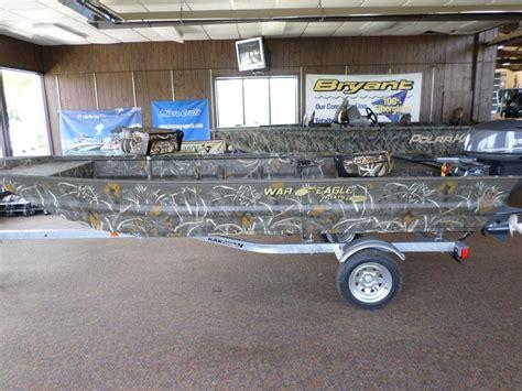 war eagle boats in michigan war eagle 548 boats for sale in michigan