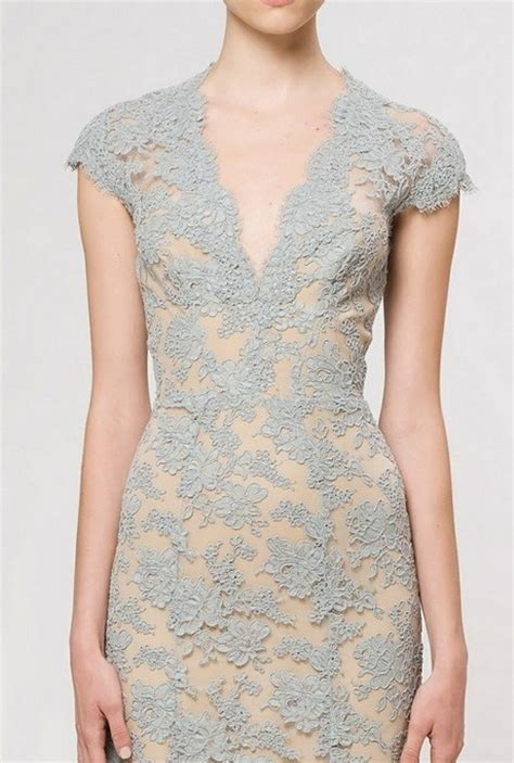 Dress Lace Grey gray lace dress