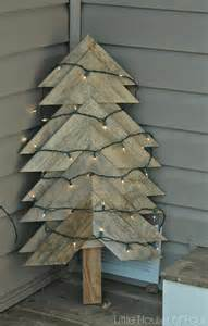 large rustic pallet christmas tree little house of four