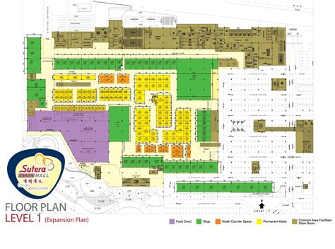 Floor Plan Mall by Floor Plan Sutera Mall Shopping Mall In Johor Bahru Malaysia Mall Building