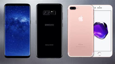 specs showdown samsung note 8 vs iphone 7 plus lifehacker australia