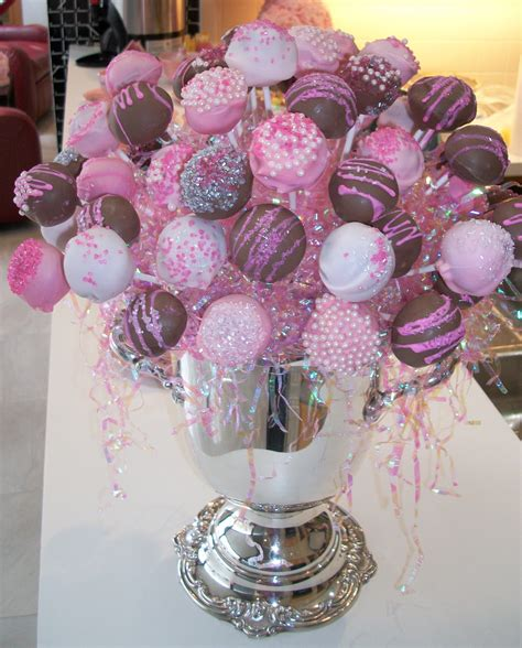 diy baby shower cake pops the cake pop arrangement for baby hailey s shower partay