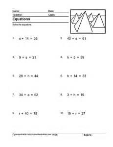 solve for a variable worksheet davezan