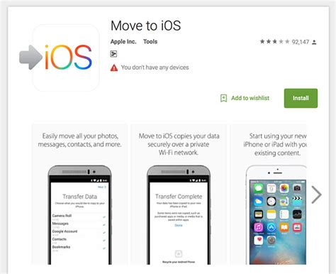 how to play ios on android new iphone how to transfer your data from ios or android