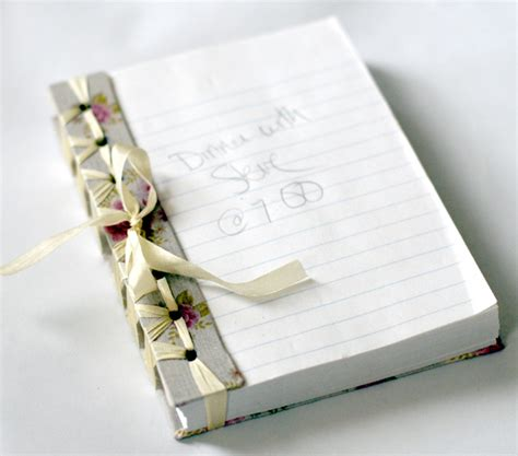 Handmade Notebook Ideas - handmade notebook may arts wholesale ribbon company