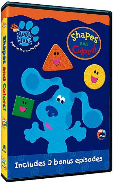 colors dvd blue s clues shapes and colors 97368753648 dvd
