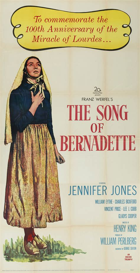 song of song of bernadette the