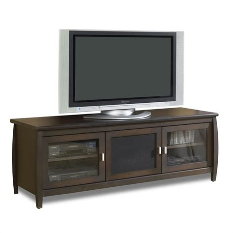 60 Tv Cabinet by Tech Craft Veneto 60 Quot Lcd Plasma Tv Stand In Walnut Finish