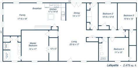 Metal Building House Plans Our Steel Home Floor Plans | metal 40x60 homes floor plans our steel home floor plans