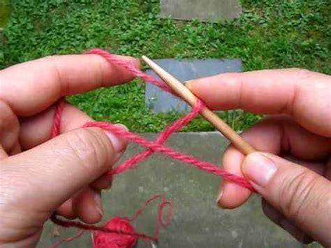 circular cast on knitting 2009 0819 lighter circular cast on two similar ways
