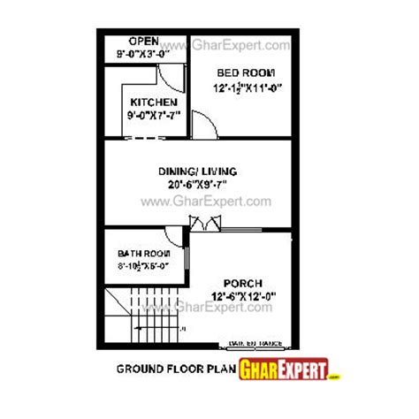 Home Designer Pro Plot Plan House Plan For 22 Feet By 35 Feet Plot Plot Size 86