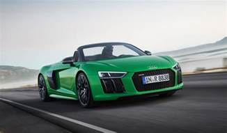 Audi Spyder R8 2018 Audi R8 Spyder V10 Plus Arrives With 610 Horsepower
