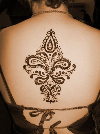 henna tattoo designs for back of neck paisley back design by mehndi club on deviantart