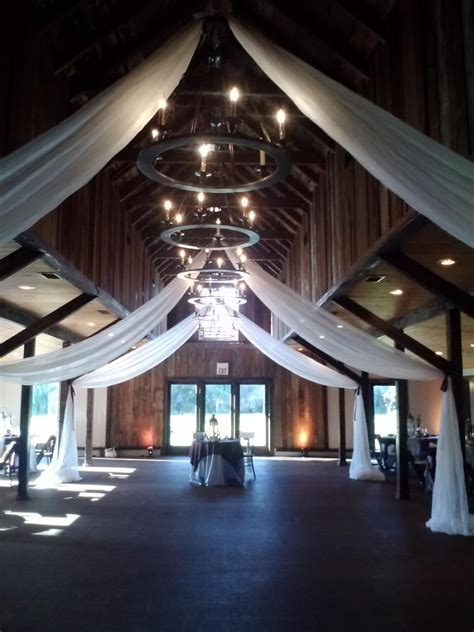 charleston wedding draping ceiling tanis j events